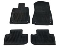 Lexus RC200t All-Weather Floor Mats, Black - PT206-24152-20