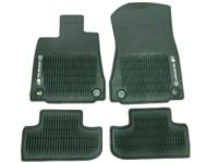 Lexus RC F All-Weather Floor Mats, Black - PT206-24154-20