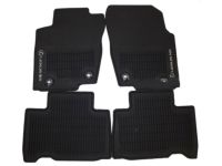 Lexus NX300 All-Weather Floor Mats, Black - PT206-78150-20