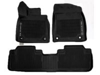 Lexus RX450hL All-Weather Floor Liners, Black - PT908-48168-20