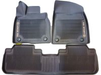 Lexus RX450hL All-Weather Floor Liners, Noble Brown - PT908-48168-40