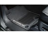 Lexus All-Weather Floor Mats, Black - PT908-60173-02