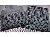 Lexus IS350 All-Weather Floor Mats, Campaign Set, 2pc Fronts only, Black - PT908-5301W-02