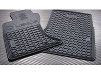 Lexus IS350 All-Weather Floor Mats, Campaign Set, 2pc Fronts only, Black - PT908-5300W-02