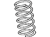 Lexus 48131-30A70 SPRING, COIL, FRONT