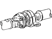 Lexus RX450h Axle Shaft - 37100-48040