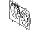 Lexus IS350 Fan Shroud - 16711-31610