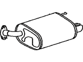 Lexus ES300h Exhaust Pipe - 17440-31150