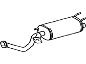 Lexus Exhaust Pipe - 17403-50151