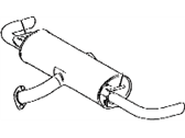 Lexus RX450h Exhaust Pipe - 17440-0P120