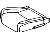 Lexus 71072-33550-A2 COVER, FRONT SEAT CUSHION, LH(FOR SEPARATE TYPE)