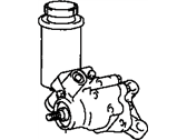 Lexus Power Steering Pump - 44320-50030