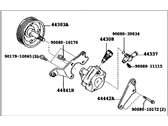 Lexus Power Steering Pump - 44310-0E020