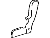 Lexus 71826-0E010-C0 MOULDING, REAR SEAT CUSHION, LH