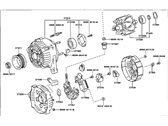 Lexus Alternator - 27060-20140