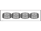 Lexus CT200h Piston Ring Set - 13011-37110