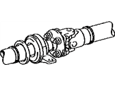 Lexus IS200t Axle Shaft - 37100-53160