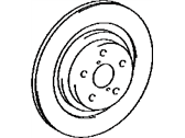 Lexus Brake Disc - 43516-30030