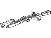 Lexus RX450h Rear Crossmember - 57606-0E021