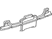 Lexus 52615-53110 ABSORBER, REAR BUMPER ENERGY
