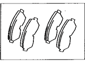 Lexus LX450 Brake Pad Set - 04465-60020