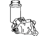 Lexus Power Steering Pump - 44320-50020