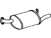 Lexus Exhaust Pipe - 17440-46130