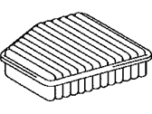 Lexus LS430 Air Filter - 17801-50030
