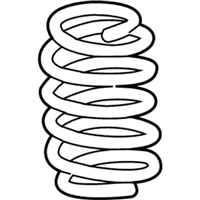 Lexus IS300 Coil Springs - 48231-53310