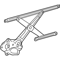 Lexus ES350 Window Regulator - 69802-06180