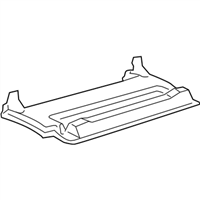 Lexus CT200h Glove Box - 55501-76010-C0