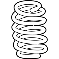 Lexus RC Turbo Coil Springs - 48231-24320