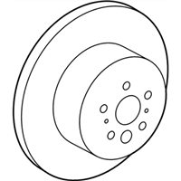 Lexus ES350 Brake Disc - 42431-06120