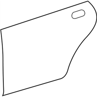 Lexus 67113-33130 PANEL, REAR DOOR, OUTSIDE