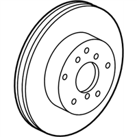 Lexus ES350 Brake Disc - 43512-06150